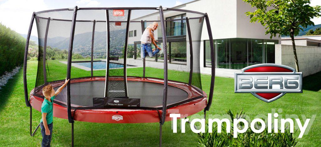 Groovy Nasze ulubione trampoliny ogrodowe » Brykacze.pl - blog. Wszystko BB76